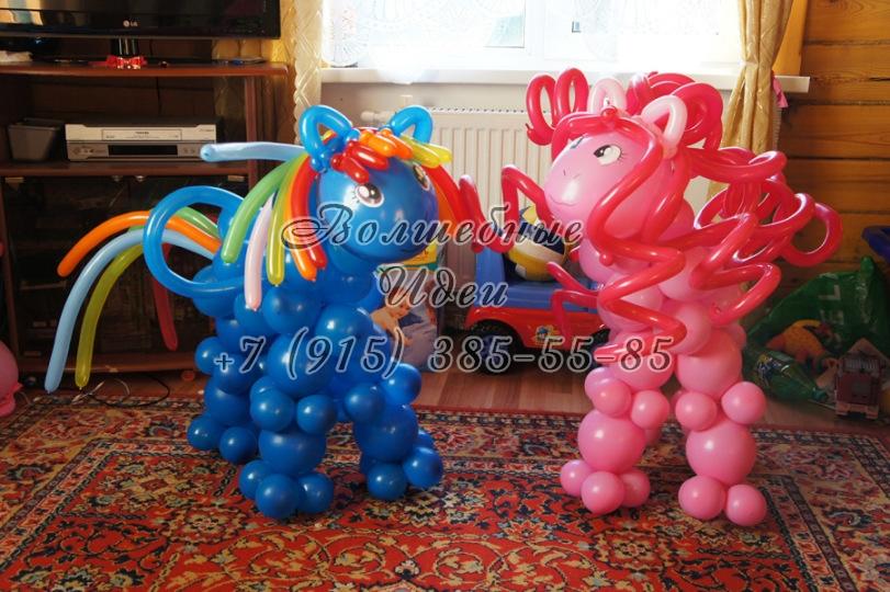 Лошадка из шаров своими руками пошаговая инструкция 43
