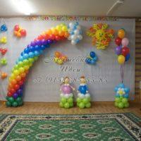 Пример оформления детского праздника