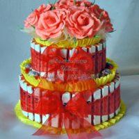 Торт из киндеров (kinder)